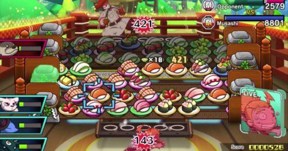 Sushi Striker: The Way of Sushido - Cut it out