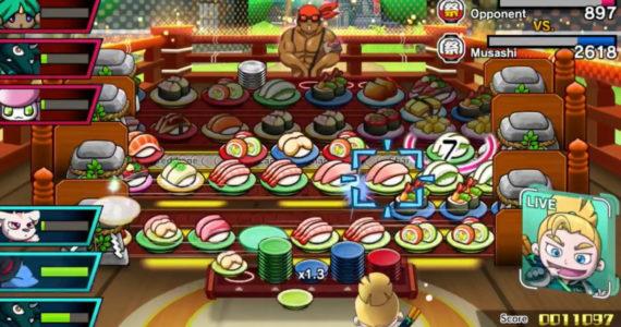 Sushi Striker: The Way of Sushido - Gameplay