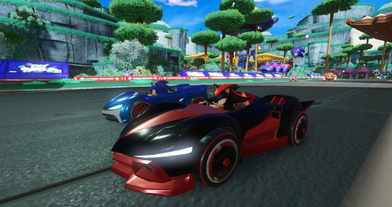 Team Sonic Racing Sonic VS Shadow