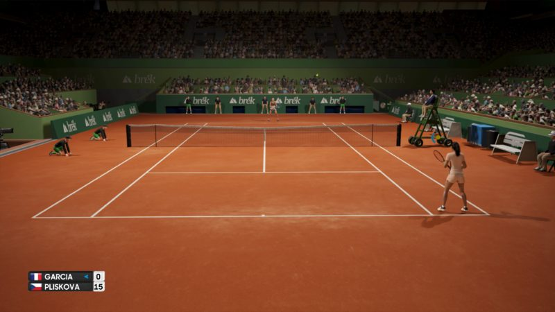 Test AO International Tennis - Match offline