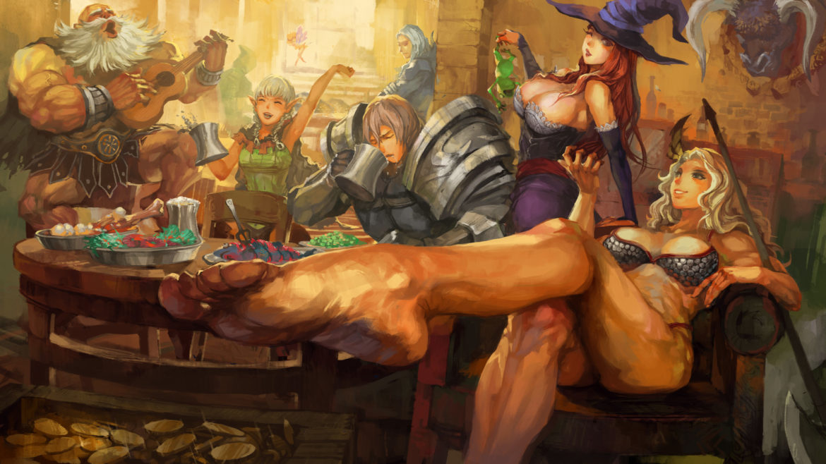 Dragon's crown pro - artwork