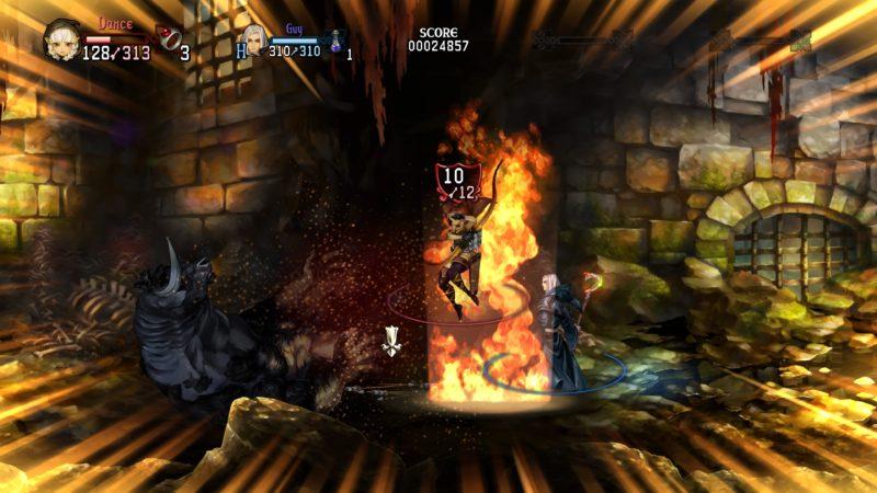 Test Dragon's crown pro - Fin de boss