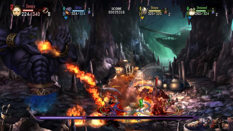 Test Dragon's crown pro - boss
