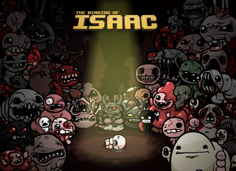 The Binding of Isaac - Ecran titre