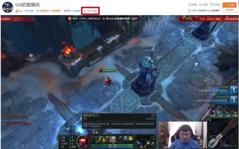 League of Legends : le stream de Uzi bat tous les records