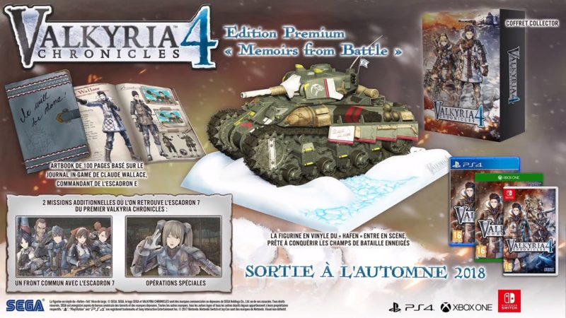 Valkyria Chronicles 4 Edition Memoirs of Battle
