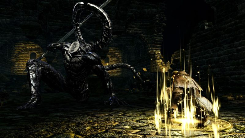Dark Souls: Remastered démon sans visage