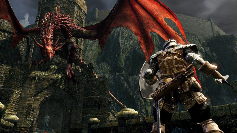 Dark Souls: Remastered Dragon Rouge