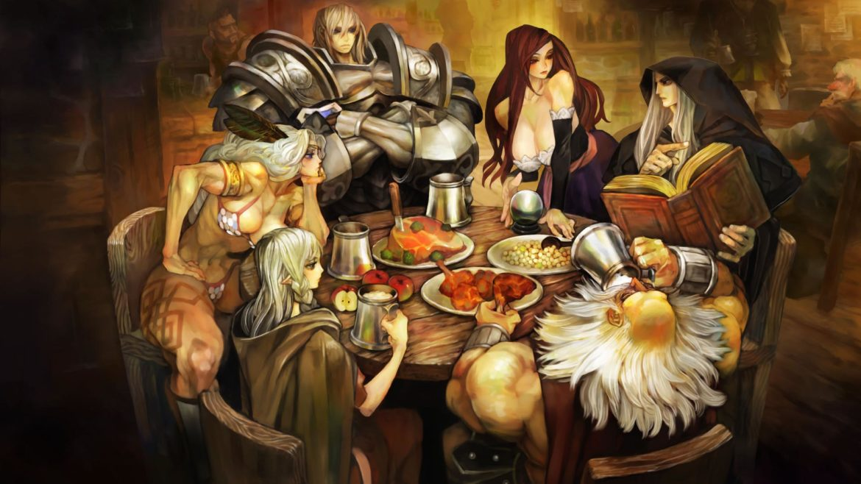 dragon's crown pro artwork
