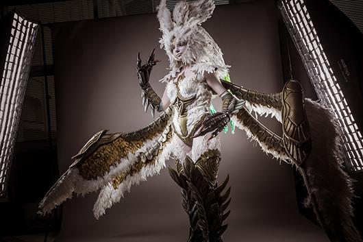 final fantasy XIV fan festival - cosplay
