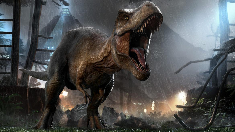 Jurassic World Evolution key art