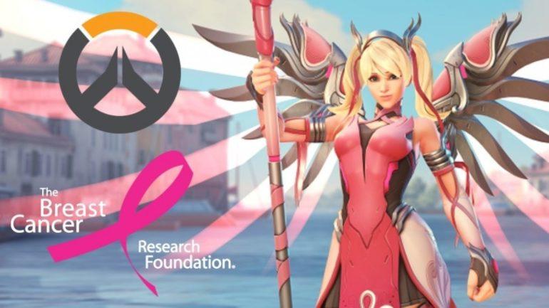Overwatch Pink Mercy