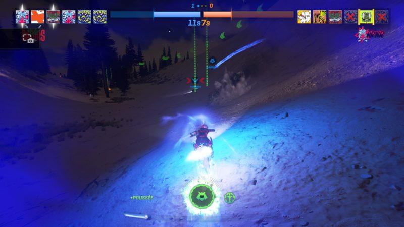 preview onrush - Moto de nuit