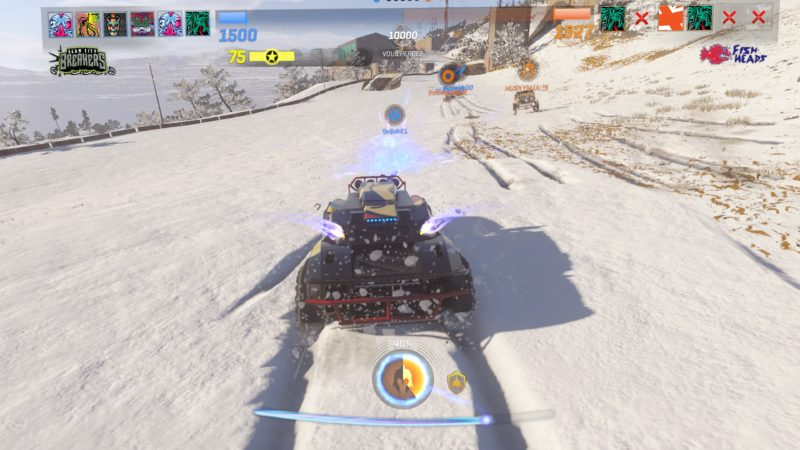 preview onrush - Neige