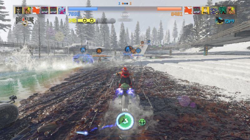preview onrush - moto boue