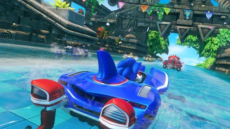 Games with Gold Sonic & All-Stars Racing Transformed bateaux