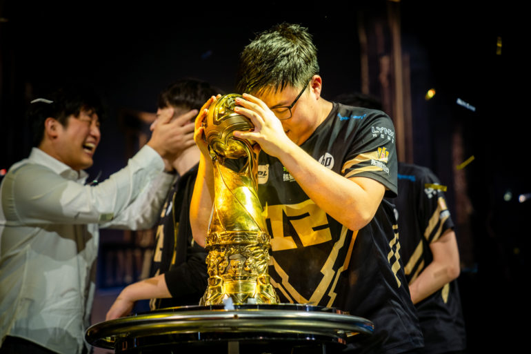 MSI League of Legends 2018 - Uzi Champion