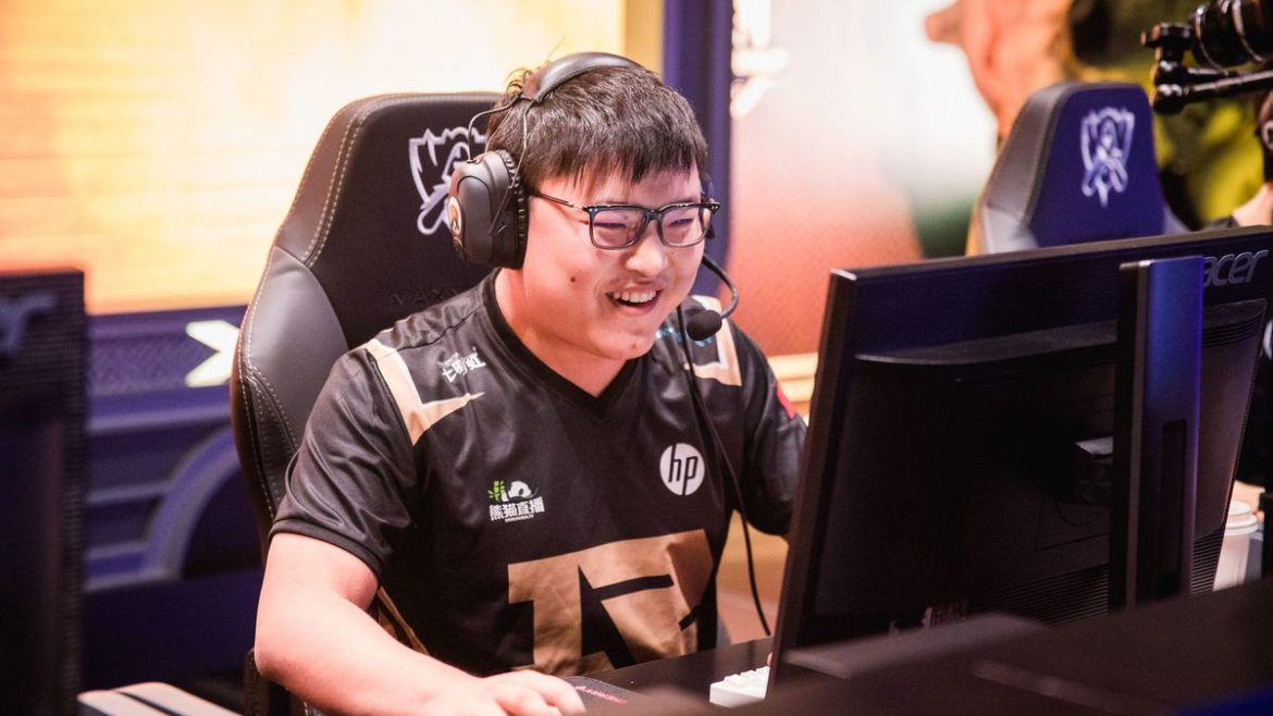 Uzi, joueur professionnel de League of Legends