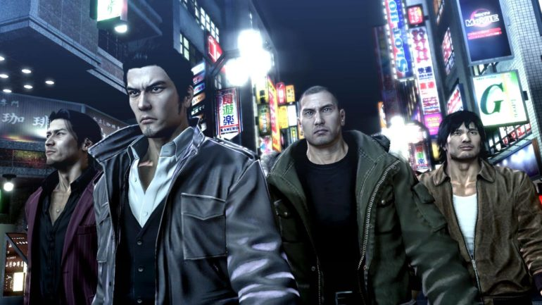 Yakuza personnages