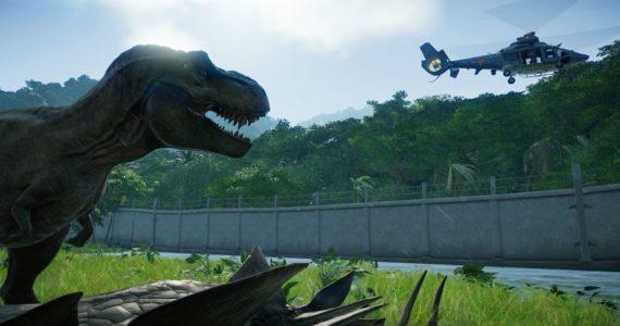 Jurassic World Evolution parc