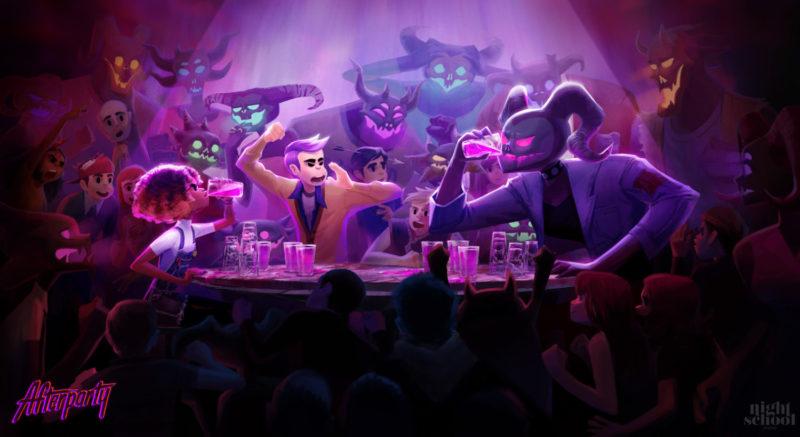 Afterparty jeu de boisson