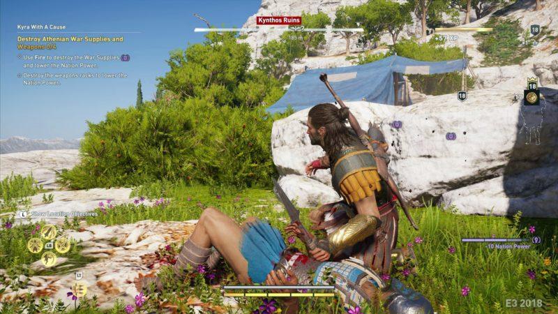 Assassins Creed Odyssey meurtre furtif