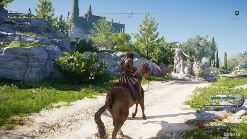 Assassins Creed Odyssey cheval