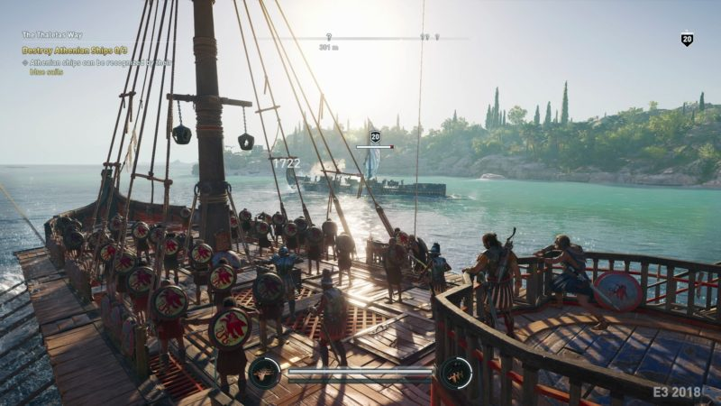 Assassins Creed Odyssey bataille navale