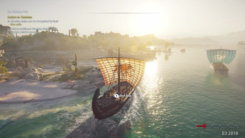 Assassins Creed Odyssey exploration maritime