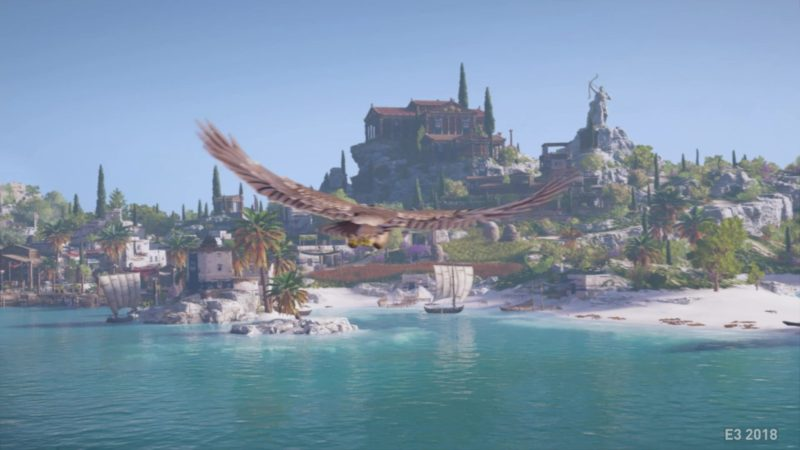 Assassins Creed Odyssey aigle