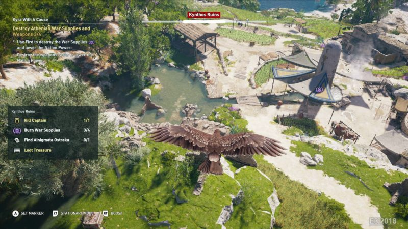 Assassins Creed Odyssey vision d'aigle