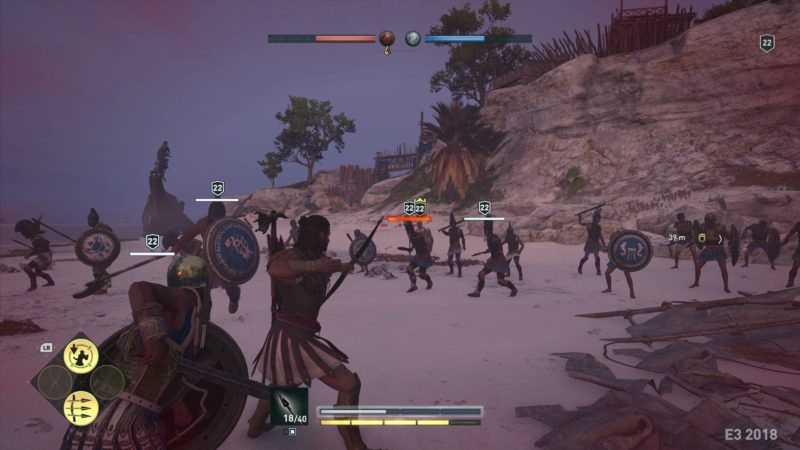 Assassins Creed Odyssey guerre