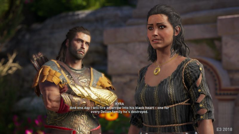 Assassins Creed Odyssey Alexios PNJ