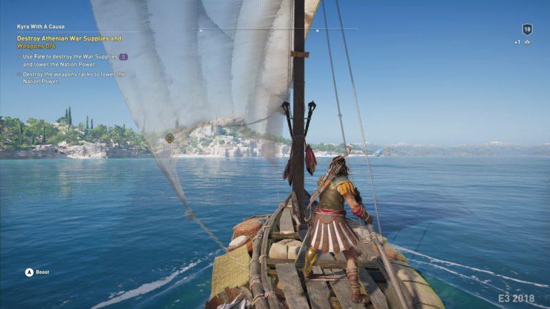 Assassins Creed Odyssey navigation