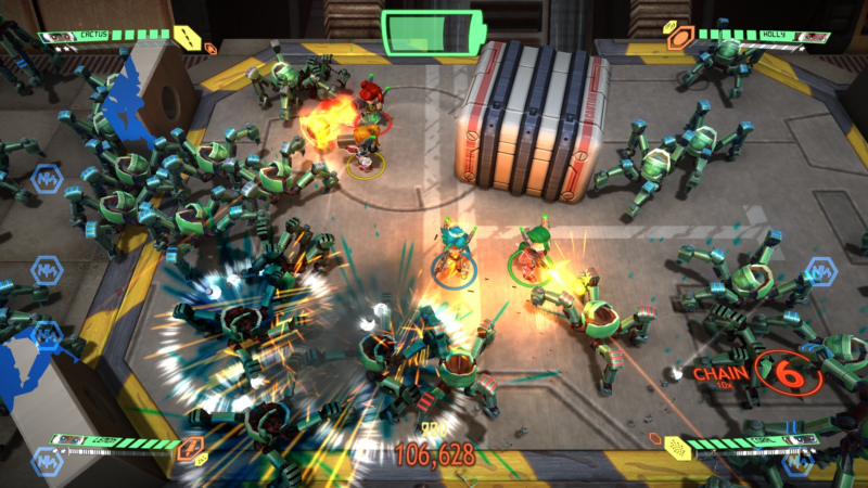 Games with Gold Assault Android Cactus combat