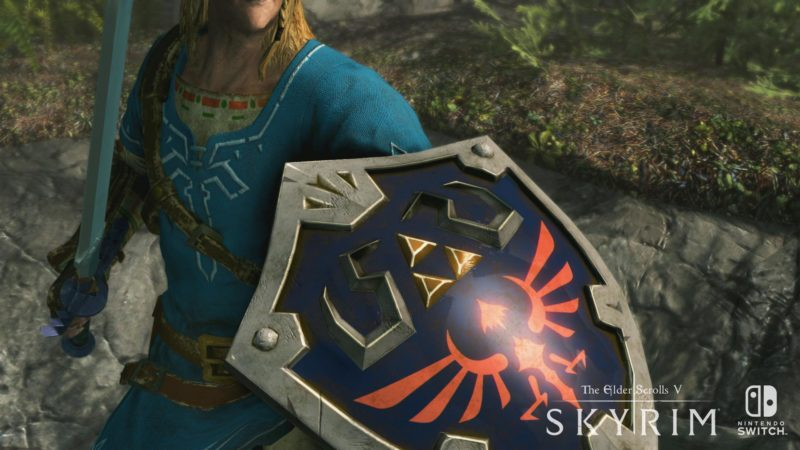 Bethesda - Skyrim, Link et ses cheveux chelous