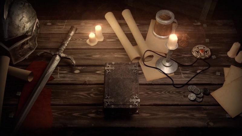 Castle of Hearts - Ecran titre