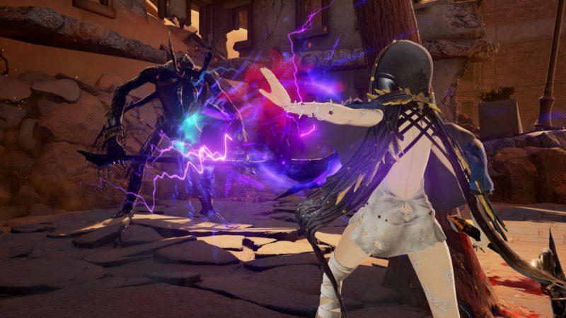 Code Vein Monstre magie combat