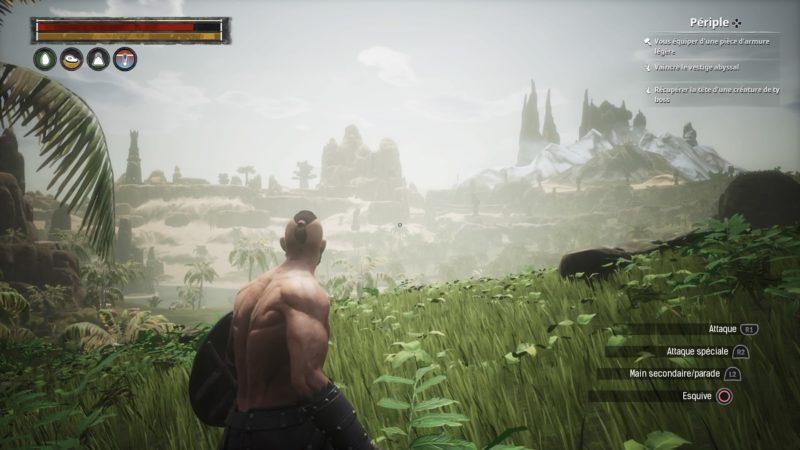 Conan Exiles paysage