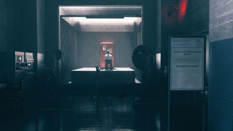 Control salle de test