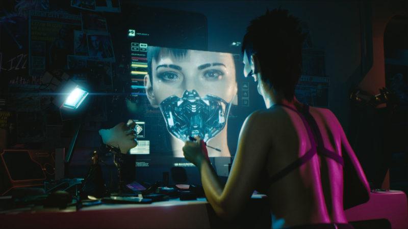 Cyberpunk 2077 cyborg