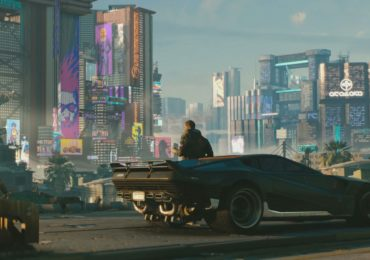 Cyberpunk 2077 V et sa voiture
