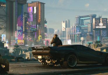 Cyberpunk 2077 voiture