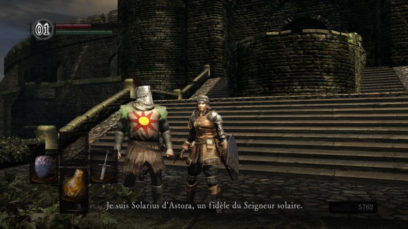 Dark Souls Remastered Solaire d'Astora