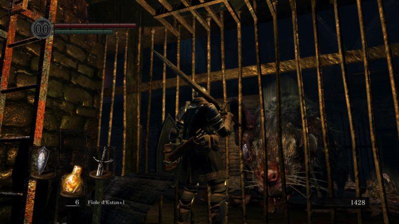 Dark Souls Remastered rat géant