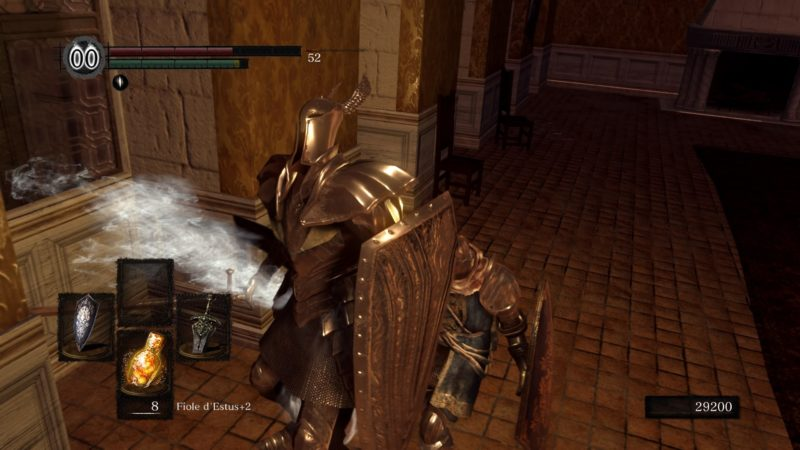 Dark Souls Remastered Chevalier d'argent