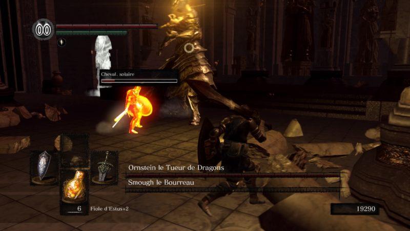 Dark Souls Remastered Duel Ornstein et Smough