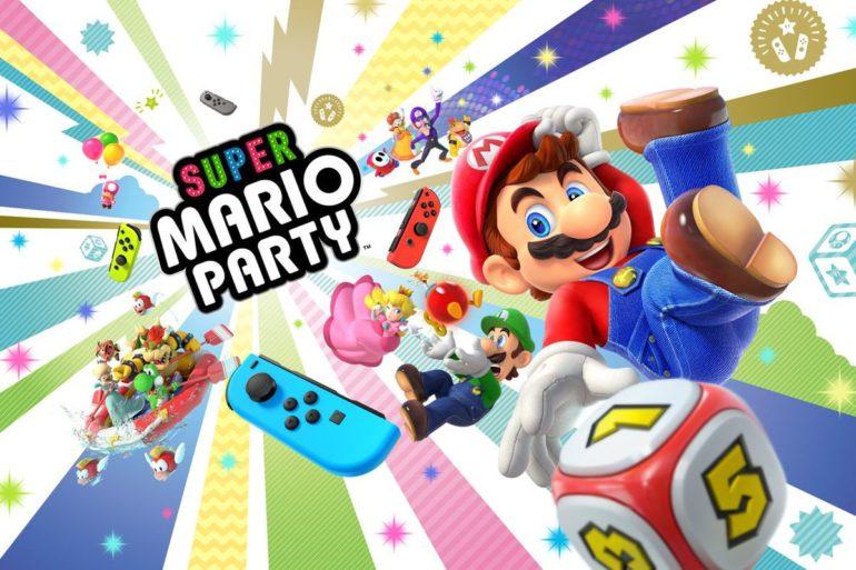 Super Mario Party sur Switch