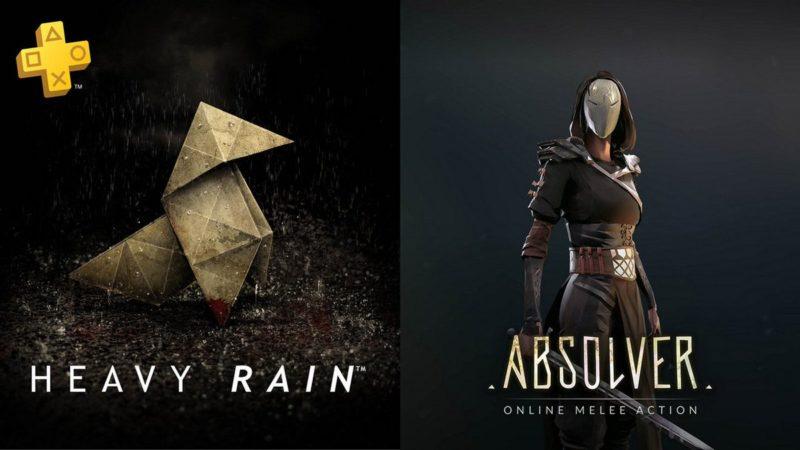 PlayStation Plus Heavy Rain Absolver