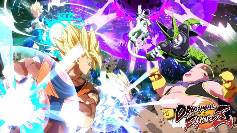 Dragon Ball FighterZ - World Tour key art